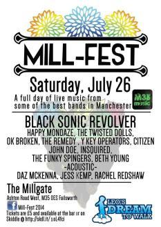 Mill-fest 26th July 2014