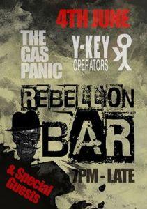 Rebellion Bar 4th June 2016