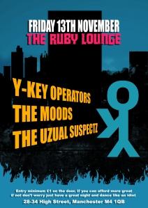 RubyLounge Fri 13th Novemeber 2015
