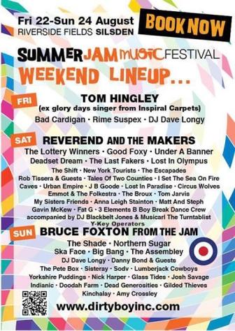 SummerJam 23rd August 2014