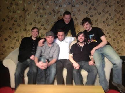Band with Gareth Icke