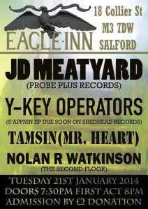 The Eagle Salford Jan